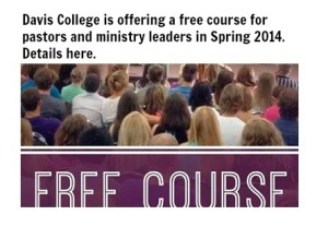 free course at davis college spring 2014