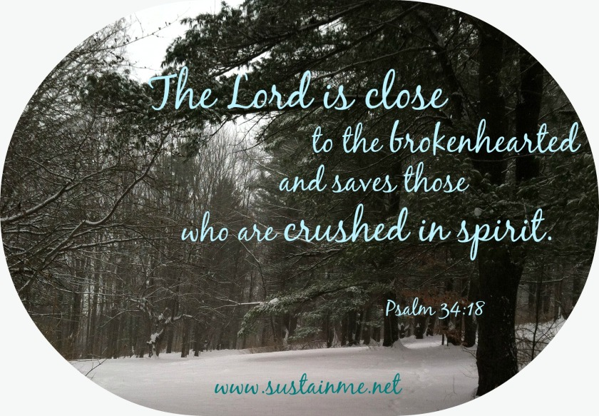 psalm3418 verses about crushed in spirit