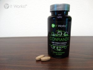 confianza health supplement to support the body in dealing with stress