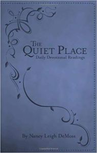 the quiet place nancy lehigh demoss devotional